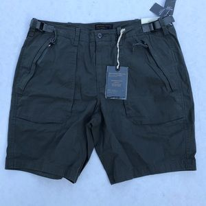NWT Abercrombie Paratroop Shorts Stretch